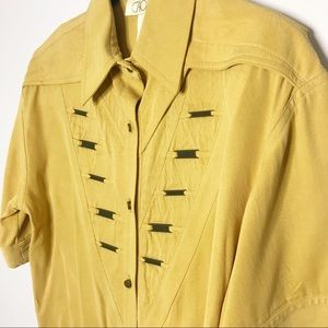 Vintage Cache Western Style Top S